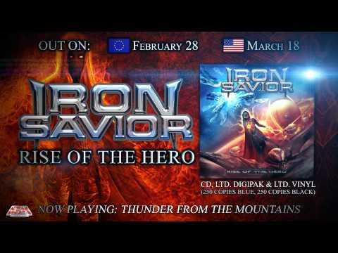 IRON SAVIOR - Rise Of The Hero (2014) // Album Trailer // AFM Records