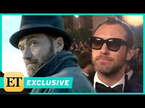 tastic Beasts 2: How J.K. Rowling Helped Jude Law Prepare to Play Dumbledore