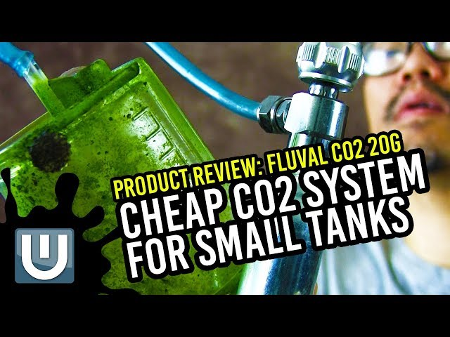 Fluval Co2 20g Reviews - Cheap Co2 for Small Tanks