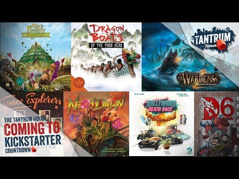 Upcoming Board Game Kickstarter October 2018 (1st Half)