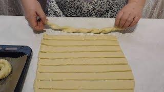 Аромат по всей кухне! Нежнейшее булочки с ароматной начинкой😘 thumbnail