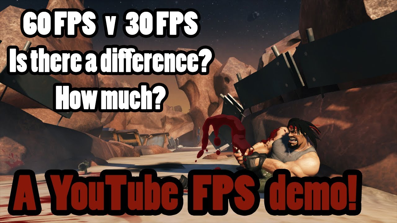 60 FPS vs 30 FPS, a YouTube frames per second demonstration - YouTube