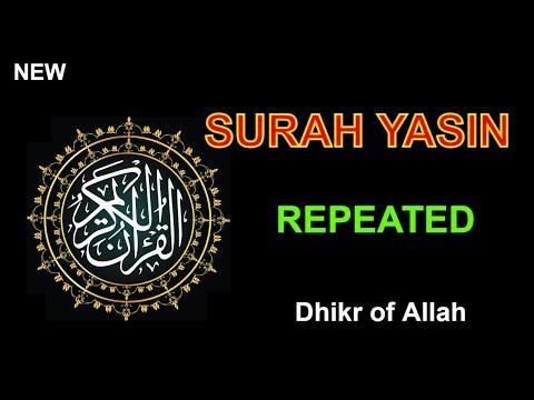 Surah Yasin |( repeated) Beautiful