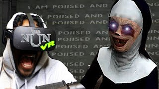 I NEED HOLY WATER...NOW!   THE NUN VR - Granny Ripoff