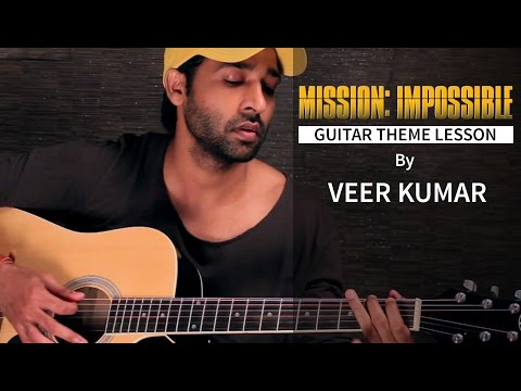 Mission Impossible - Guitar Lesson for Beginners by VEER KUMAR
