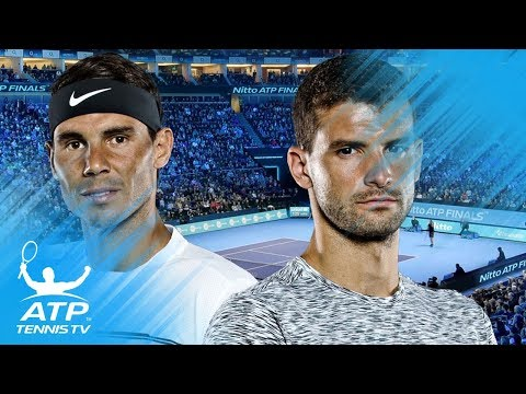 Amazing Rallies from Nadal v Dimitrov 2017 ATP Rivalry