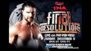 TNA Final Resolution 2011 - Official Theme Song HQ