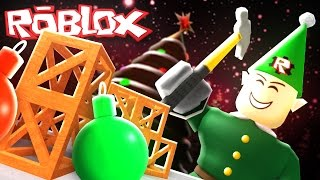 Roblox Adventures / Christmas Rush / Building Toys in Santa's Workshop!