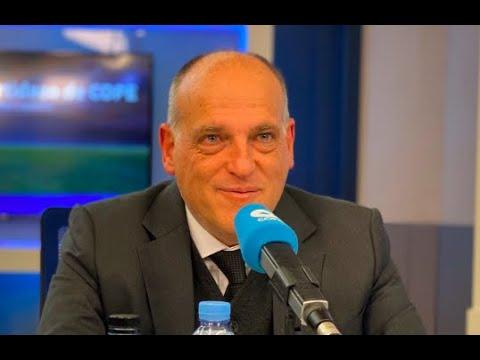 Entrevista a Javier Tebas en El Partidazo de COPE (27/01/2020)