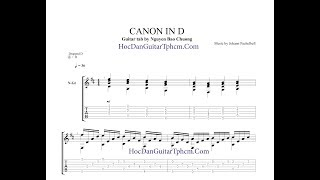 Canon in D - Guitar Tab