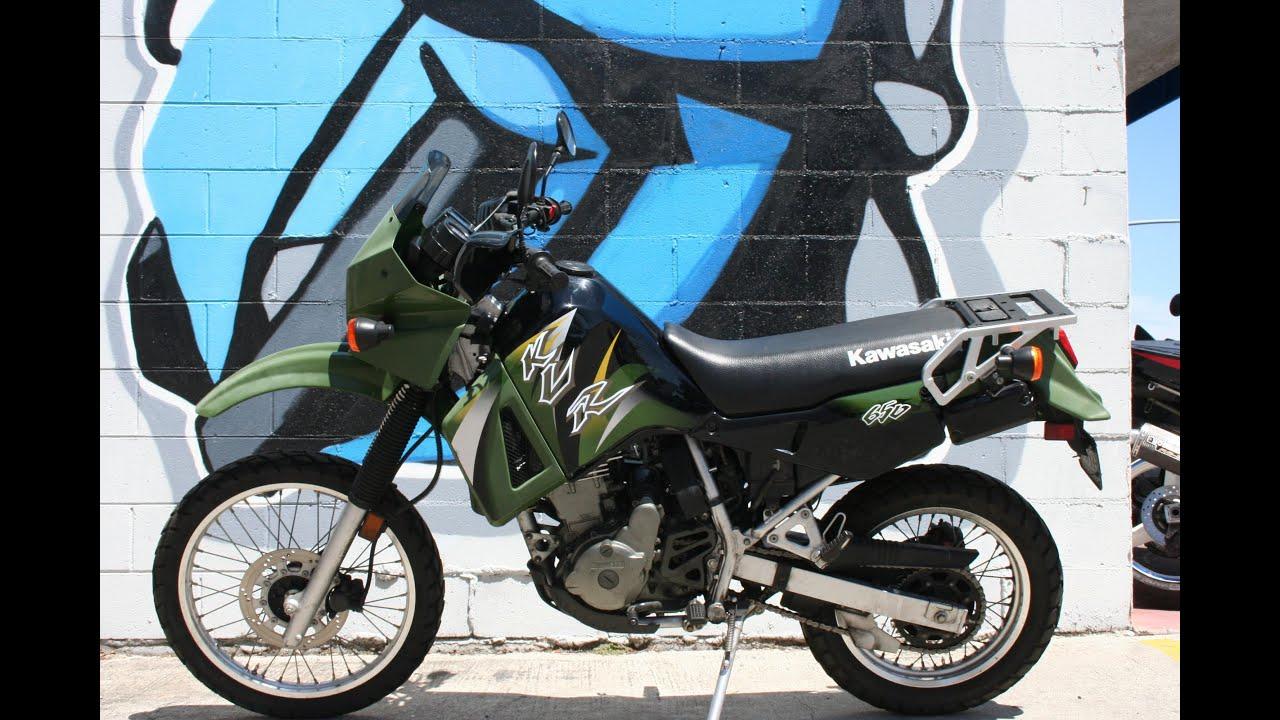 Kawasaki Dual Sport >> 2003 Kawasaki KLR650 Dual Sport Motorcycle For Sale - YouTube