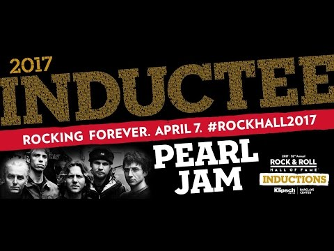 2017 Rock and Roll Hall Of Fame - Pearl Jam Induction (full induction and show)