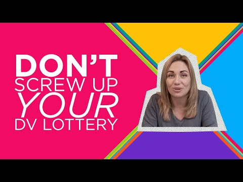 INCREASE YOUR CHANCES FOR DV-2020 LOTTERY (GREEN CARD)!