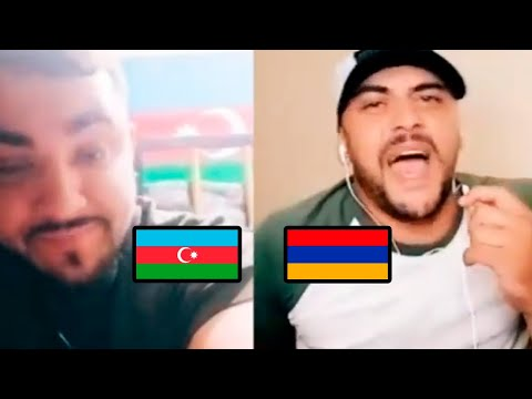 Азербайджанец и Армянин (КАРАБАХ)