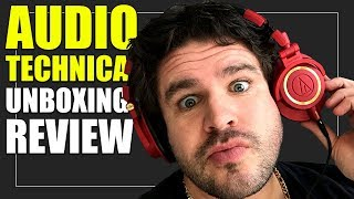 Audio Technica ATH M50x Limited Edition Iron Man Headphones | Unboxing Review