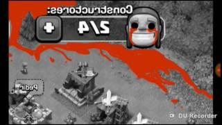 Noche de terror|crepypasta clash of clans