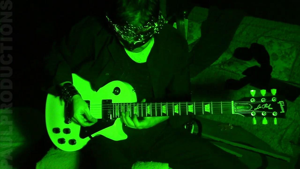 Phantom Of The Opera Iron Maiden Cover Adrian Smith Chords 440hz