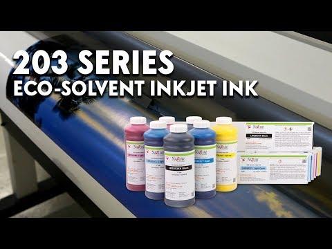 Nazdar 203 Series Eco-Solvent Inkjet Ink