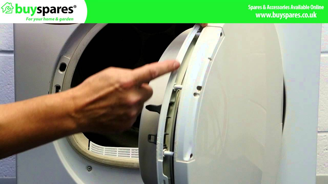 How To Replace A Bosch Tumble Dryer Door Handle Youtube