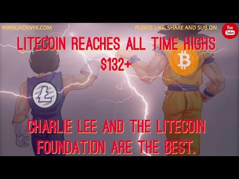 I love LTC, Charlie Lee and the Litecoin Foundation.  Crypto ATH and climbing.