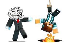 Minecraft : TROLLADO POR UM MAPA CHEIO DE ARMADILHAS ! ( Minecraft Troll )