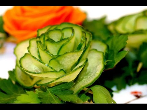 Пошаговое украшение салатов своими руками с фото