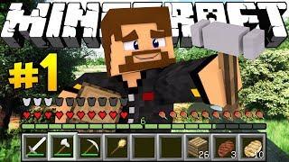 РЕАЛИСТИЧНОЕ ВЫЖИВАНИЕ В МАЙНКРАФТЕ - Minecraft Колония #1