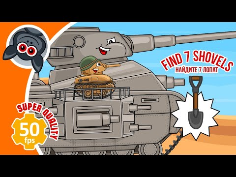 All Episodes: Adventures of Leviathan. Steel Monsters. Part 6. Cartoons about Tanks
