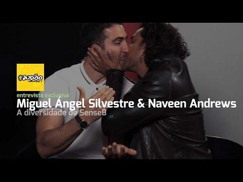 SENSE8! Naveen Andrews e Miguel Angel Silvestre falam sobre DIVERSIDADE
