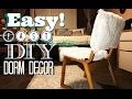 DIY Easy DormIdeas//Chair//Curtains//SacState