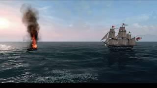 Naval Action Pirate Frigate vs Hercules