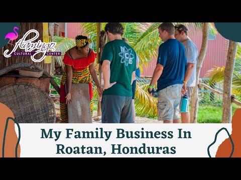 My Family Business in Roatan, Honduras