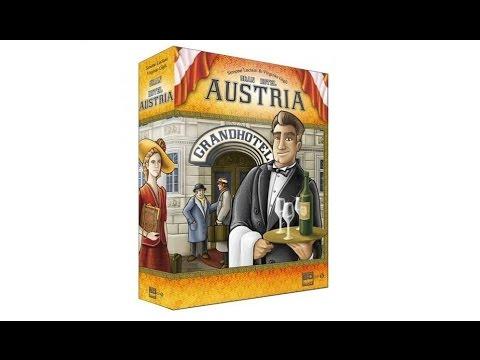 Gran Hotel Austria - Español - Reseña Juego de mesa - Preparación y cómo se juega