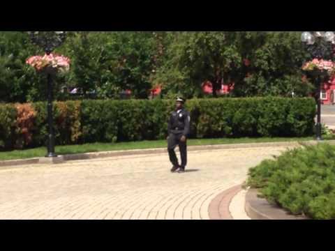 Jones patrolling the streets of Kievиз YouTube · Длительность: 44 с