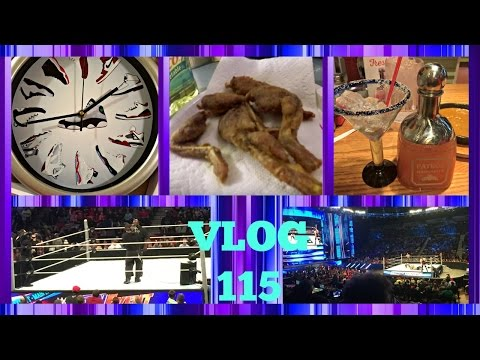 VLOG 115 | Smackdown | Back At Chili's | Sneaker Clock | Disgusting Frog Legs from YouTube · Duration:  11 minutes 15 seconds