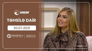 Təhsilə Dair 30 07 2021