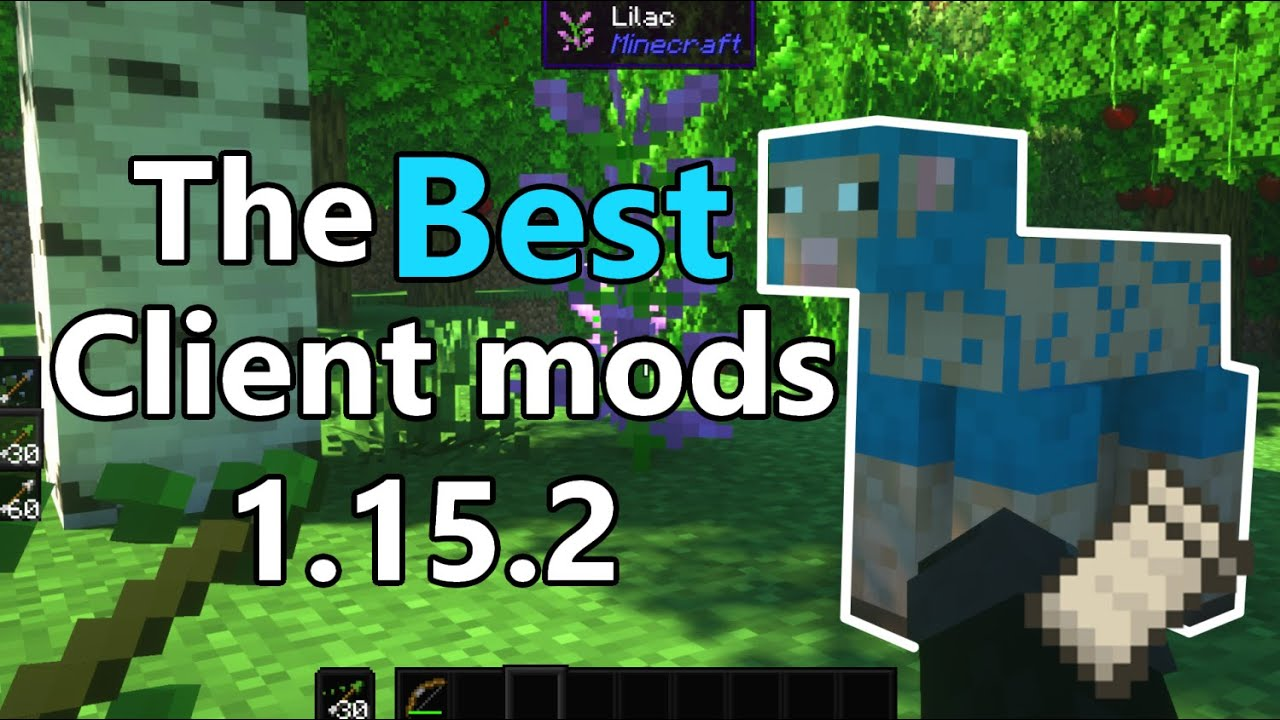 Best Client Mods for 1 15 2 YouTube