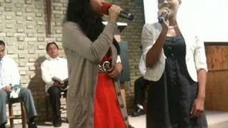 His Eye Is On The Sparrow (cover) Lauryn Hill & Tanya Blount