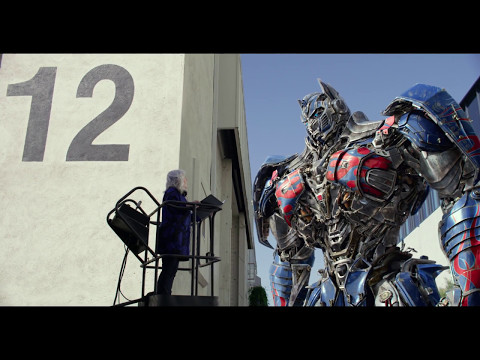 Transformers: The Last Knight Optimus Prime with British Dialogue Coach Commercial