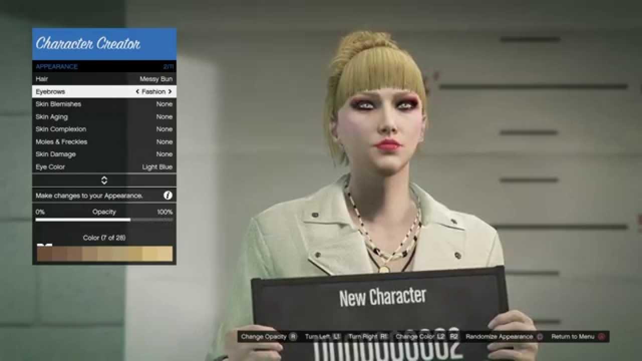 GTA Online - Fashion Model Character Customization