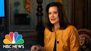 Live: Michigan Gov. Whitmer Gives Coronavirus Update | NBC News