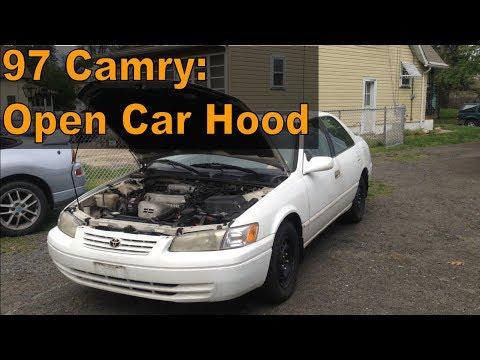 1997 Toyota Camry: Open Car Hood Quick Tip