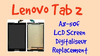 Lenovo Tab 2 A8-50f A8-50lc LCD Screen Touch Replacement 2019-Gsm Guide