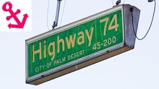 [FULL HD] Snippets Drive Palms to Pines Highway 74 Part 1 Palm Desert to Lake Hemet Hwy
