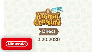 Animal Crossing: New Horizons Direct 2.20.2020