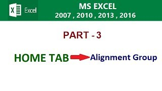 MS EXCEL 2016 TUTORIAL IN HINDI PART - 3 BY COMPUTER WORLD TIPS AND TRICKS IN HINDI..