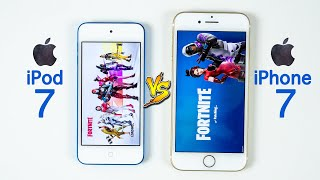 iPod Touch 7 vs iPhone 7 SPEED TEST - Same Chip, Different Results!