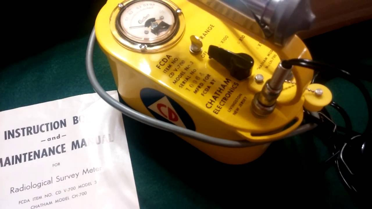Chatham Electronics Cdv 700 Model 3 Geiger Counter Grieteeeprojects11 Control Of Electrical Appliances Using Remote