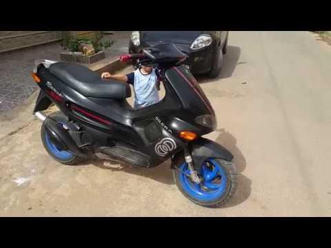 Gilera Runner 50cc In Maroc Youtube