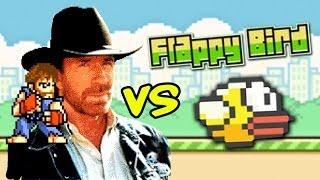 Chuck Norris vs Flappy Bird